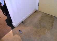 Wet walls and flooring