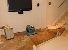 Saturated Sub Floor
